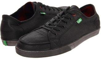 Sanuk Anthem Waxed (Black) - Footwear