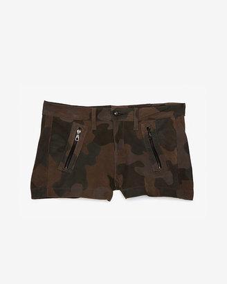 Rag and Bone Camo Print Shorts
