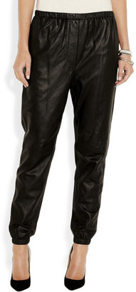 3.1 Phillip Lim Tapered leather pants