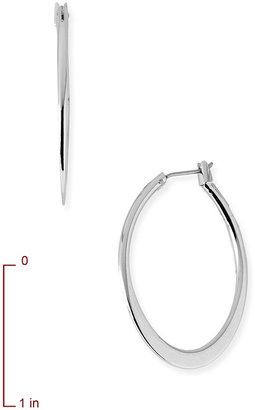 Nordstrom Large Flat Oval Hoop Earrings