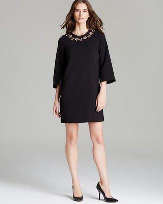 Kate Spade Lucy Embellished Neckline Dress