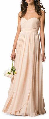 Jenny Yoo Mira Chiffon Convertible Dress
