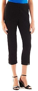 JCPenney Worthington® Fashion-Fit Cropped Pants