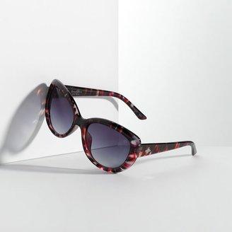 Vera Wang Simply vera colored cat's-eye sunglasses