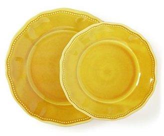Smith & Hawken Mustard Tableware, Salad Plate