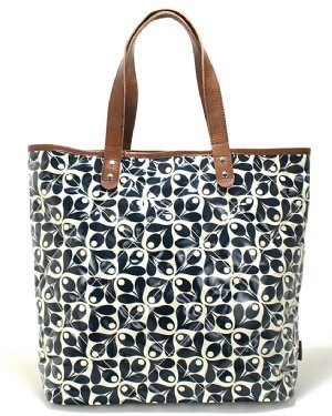 Orla Kiely Laptop Tote Acorn Cup Print