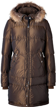 Parajumpers Lightweight Long Bear Parka in Tobacco