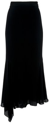 Chanel asymmetric skirt