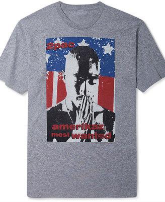 American Rag Shirt, Tupac Flag Graphic T Shirt