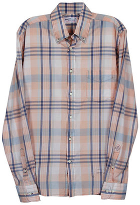 Gant Handloom Madras E-Z Buttondown Shirt -