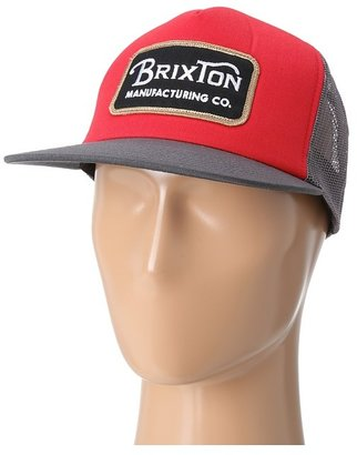 Brixton Route (Red/Charcoal) - Hats