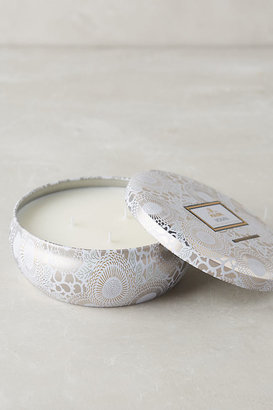 Voluspa Limited Edition Japonica Candle Tin By in White