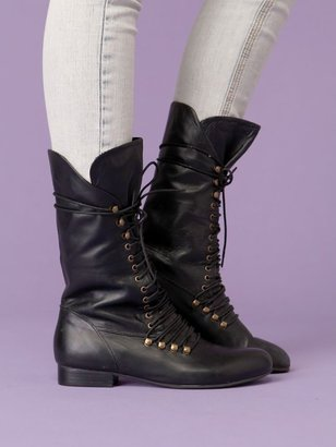 Free People Carley Lace up Boot