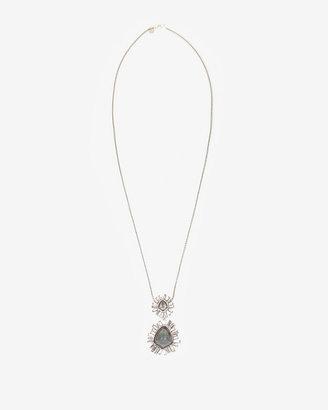 Alexis Bittar Bel Air Starburst Pendant Necklace