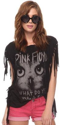 Forever 21 Pink Floyd Fringe Tee