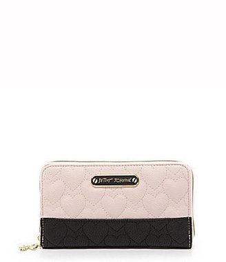 Betsey Johnson Be My One and Only Multi-functional Zip Around Wallet