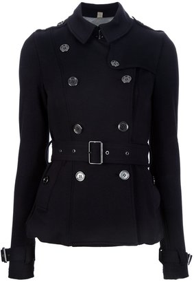 Burberry short trench