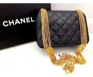 Chanel excellent (EX Quilted Lizard Shoulder Bag