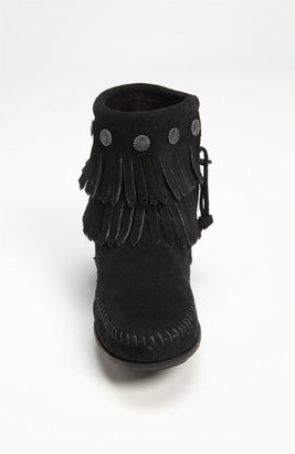 Minnetonka Women's Double Fringe Boot