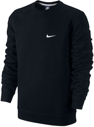 Nike Men's Classic Fleece Crew Pullover $40 thestylecure.com