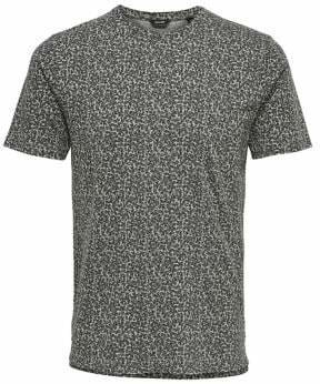 ONLY & SONS Washed Out-Print Cotton Tee