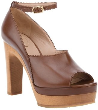 Chloé chunky heel sandal