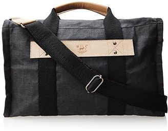 Will Leather Goods Wax Coated Canvas 31144 Duffle Bag