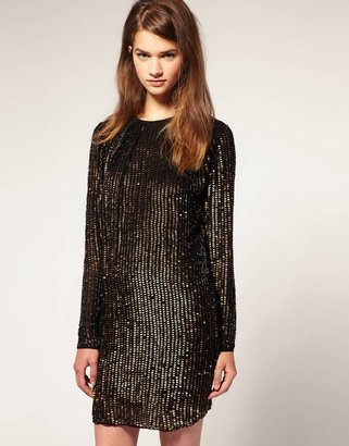 Asos Sequin Shift Dress