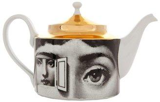 Fornasetti Printed porcelain tea pot