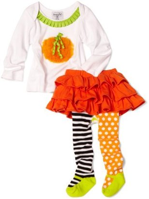 Mud Pie Baby-girls Infant Pumpkin Skirt Set
