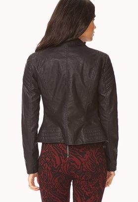 Forever 21 Street-Chic Moto Jacket