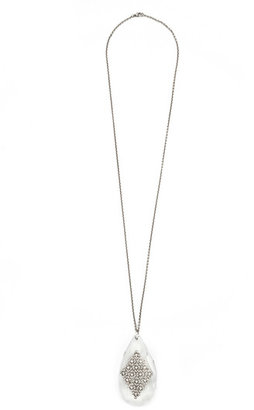 Ciner Oversized Teardrop Necklace