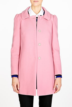 RED Valentino Pink A-line Coat