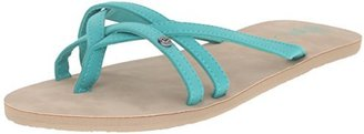 Volcom Women's Look Out Thong Sandal $9.99 thestylecure.com