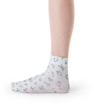 Club Monaco Kate Cheetah Print Sock
