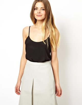 Asos Woven Cami with Scoop Neck