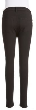 TINSEL Faux Leather Front Ponte Pants