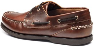 Charles Tyrwhitt Brown Claremont boat shoes