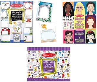 Melissa & Doug Sticker Pad Bundle