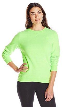 Champion Women's Pullover Eco Fleece Sweatshirt $28 thestylecure.com