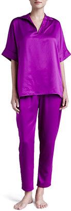 Natori Silky Charmeuse Modern Pajamas
