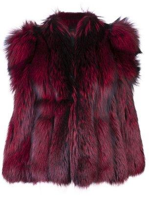 G.V.G.V. Oversized fur coat