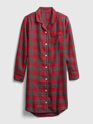 Gap Kids Plaid PJ Dress