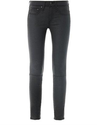 Rag and Bone Rag & Bone Devi lace-up mid-rise skinny jeans