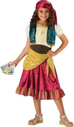 Incharacter Costumes, LLC Big Girls' Gypsy Dress Set
