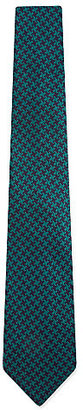 Duchamp Henley houndstooth tie