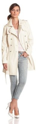 Jessica Simpson Women's Double-Breasted Trench