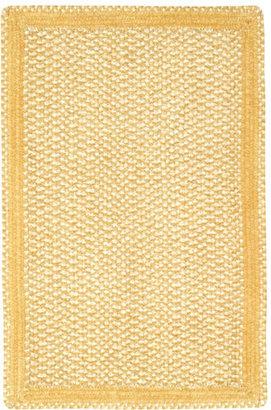 Basketweave Sunshine Braided Rug