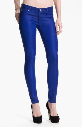 Hudson Jeans 'Krista' Super Skinny Jeans (Blue My Mind Wax)