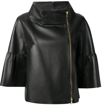 RED Valentino funnel neck jacket